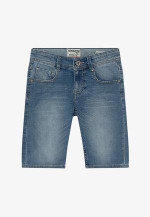 CHARLIE - Denim shorts - light-blue denim