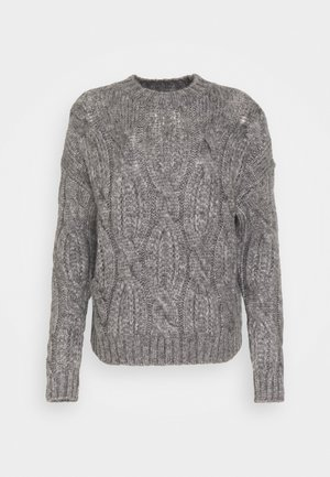 ONLMARCELLA  - Jumper - medium grey melange