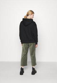 Monki - CORIE TROUSERS - Kalhoty - green - 2