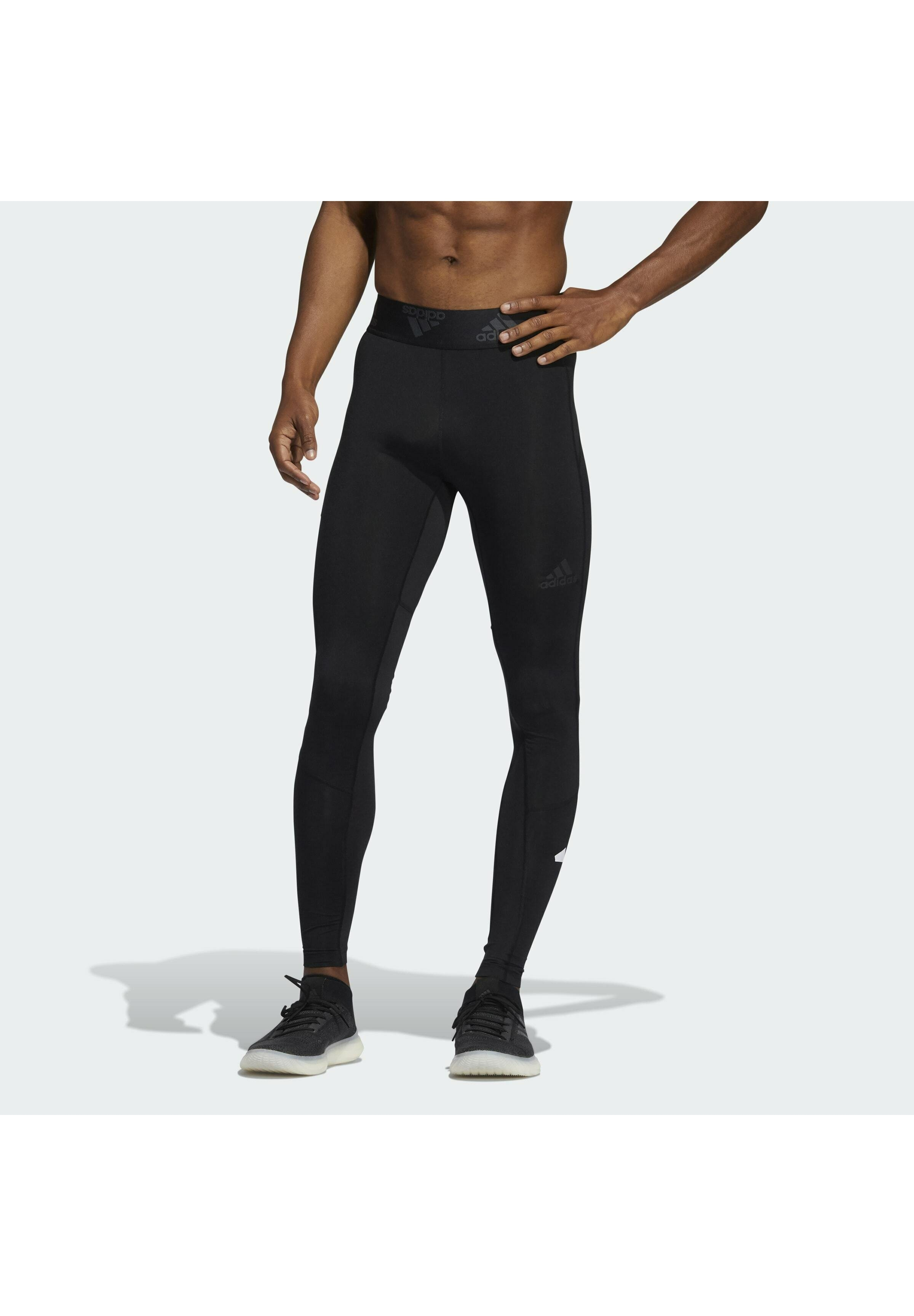 Men 3 BAR DESIGNED4TRAINING PRIMEGREEN TECHFIT SPORTS LEGGINGS - Leggings