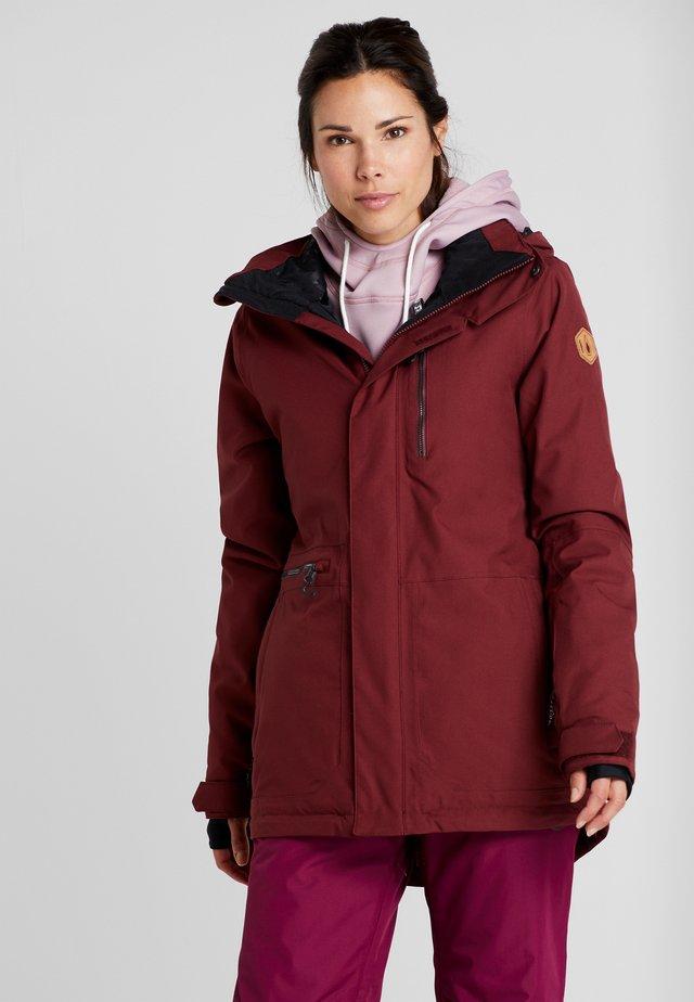 SHELTER - Snowboard jacket - scarlet
