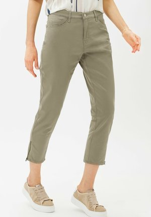 MARY S - Pantaloni - light khaki