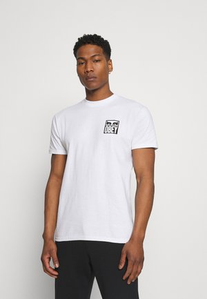 EYES ICON - Print T-shirt - white