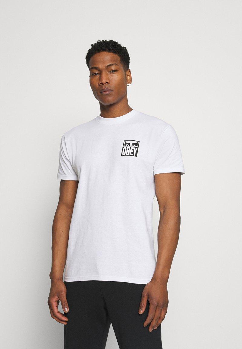 Obey Clothing - EYES ICON - Printtipaita - white