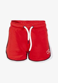 WE Fashion - MIT SCHRIFTZUG - Shorts - red - 0
