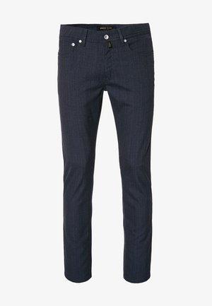 LYON VOYAGE - Pantalon classique - braun/blau