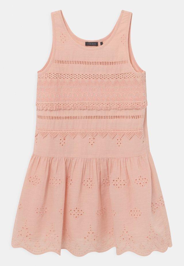 Korte jurk - rose poudré