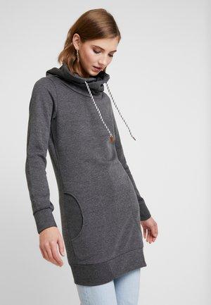 ONLBETTE LONG HIGH NECK  - Huppari - dark grey