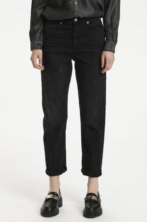 Jeans a sigaretta - black retro wash