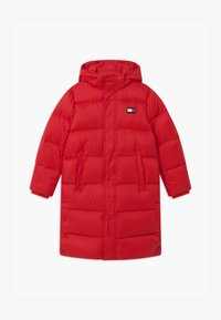 Tommy Hilfiger - OVERSIZED UNISEX - Down coat - red - 0