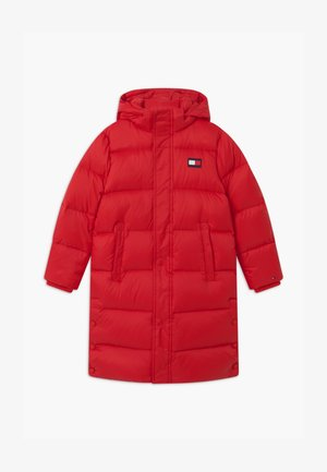 OVERSIZED UNISEX - Daunenmantel - red