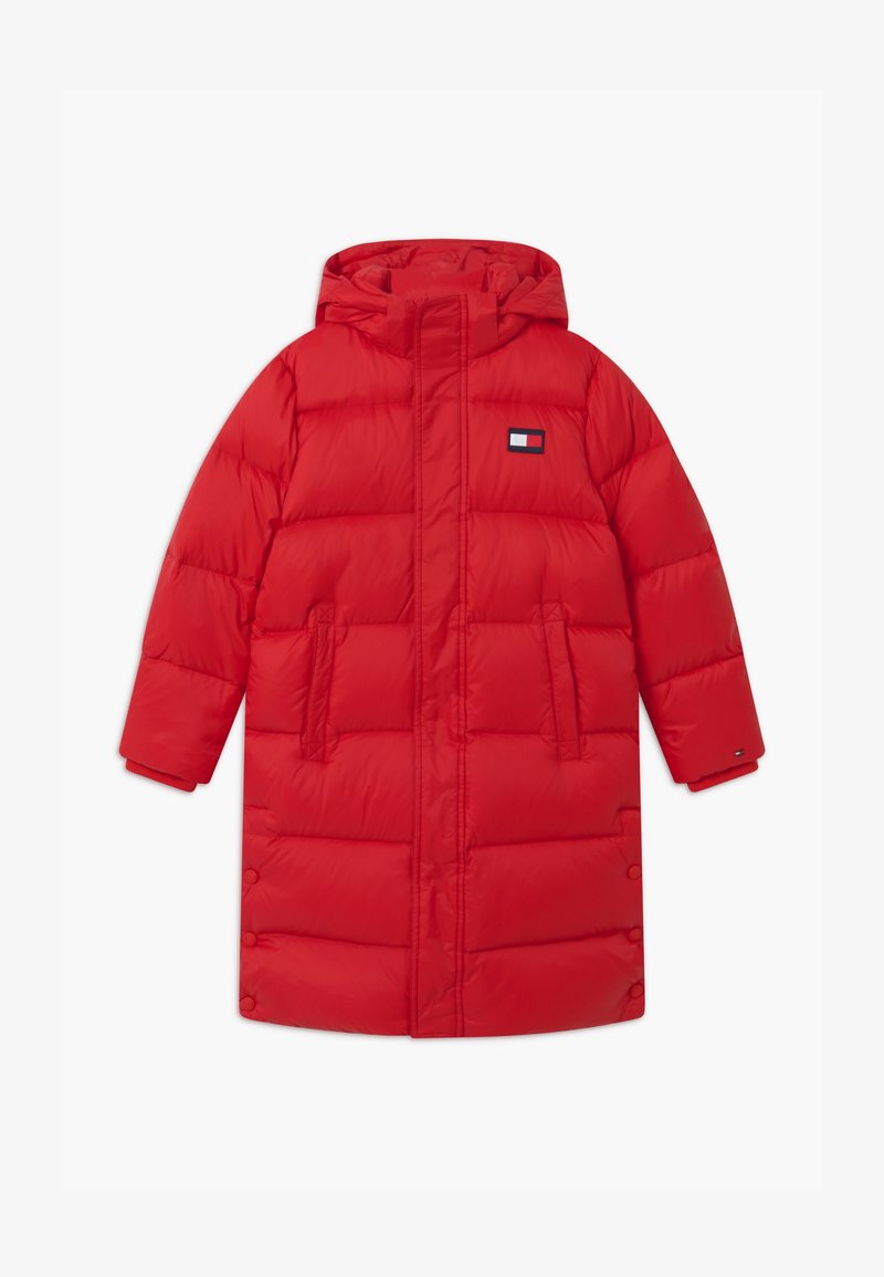Tommy Hilfiger - OVERSIZED UNISEX - Down coat - red
