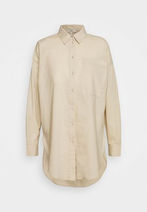 PLAIN - Button-down blouse - sand
