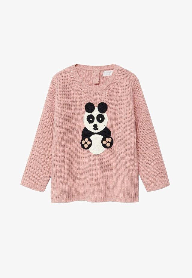 Sweatshirt - roze