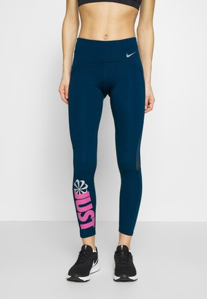 PEED - Leggings - valerian blue/cosmic fuchsia