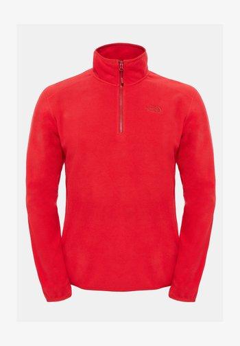 GLACIER - Fleece jumper - tnf red