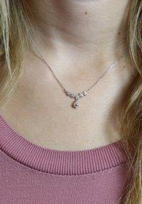Lucardi - Necklace - zilver - 0