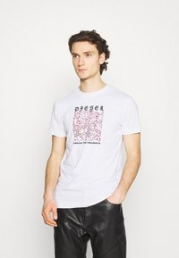 Diesel - DIEGOS - Print T-shirt - white - 0