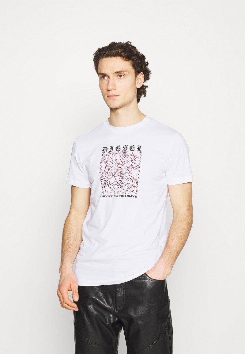 Diesel - DIEGOS - Print T-shirt - white