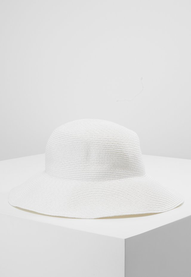 SHADY LADY NEWPORT FEDORA - Hat - white
