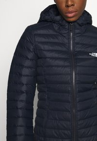 The North Face - W STRETCH DOWN PARKA - Down coat - aviator navy - 4