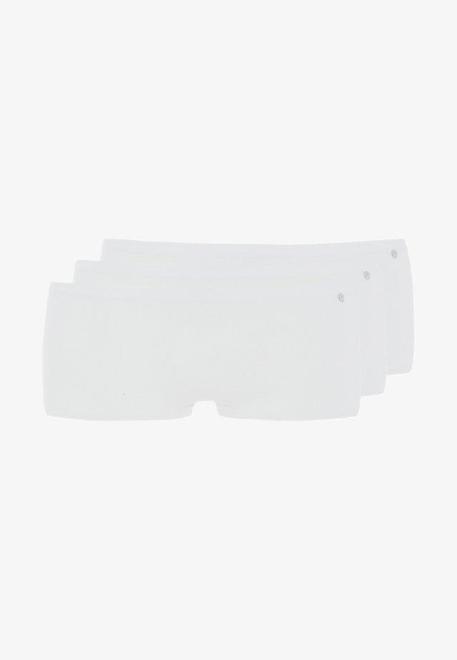 SHORT 3 PACK - Pants - white