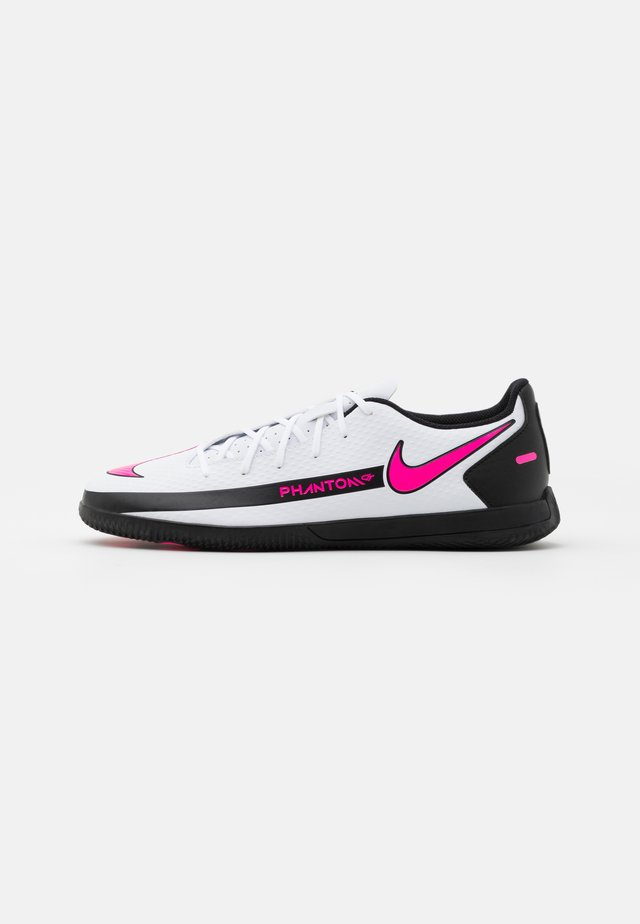 PHANTOM GT CLUB IC - Fußballschuh Halle - white/pink blast/black