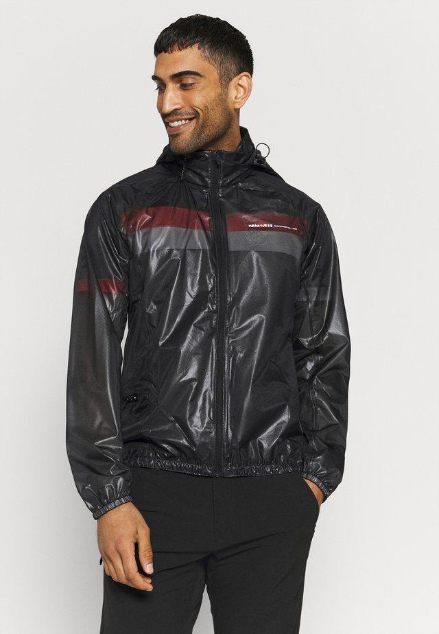 RUKKA MALKO - Waterproof jacket - black