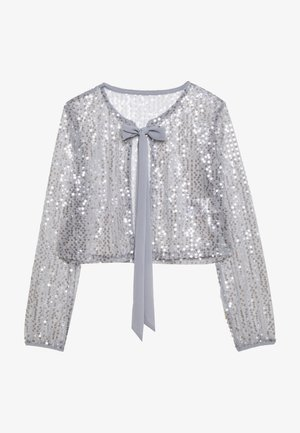 VILJA COVER UP - Chaqueta fina - silver