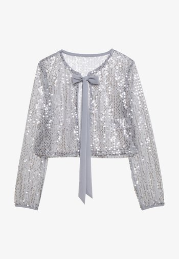VILJA COVER UP - Summer jacket - silver