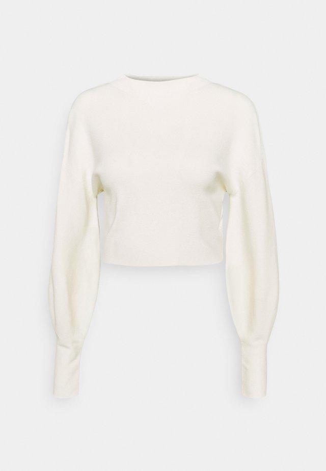 DIMIA JUMPER - Stickad tröja - chalk white