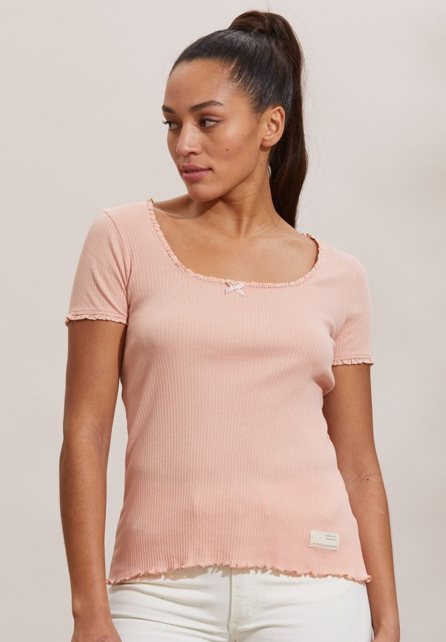MAGDA - T-shirt con stampa - pink conch
