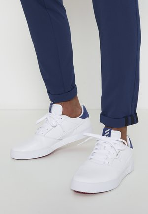 ADICROSS RETRO - Golfschoenen - footwear white/silver metallic/tech indigo