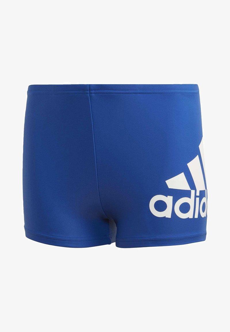 adidas Performance - BADGE OF SPORT SWIM BOXERS - Swimming trunks - blue