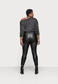 Simply Be - HIGH WAIST SKINNY - Jeans Skinny Fit - black - 2