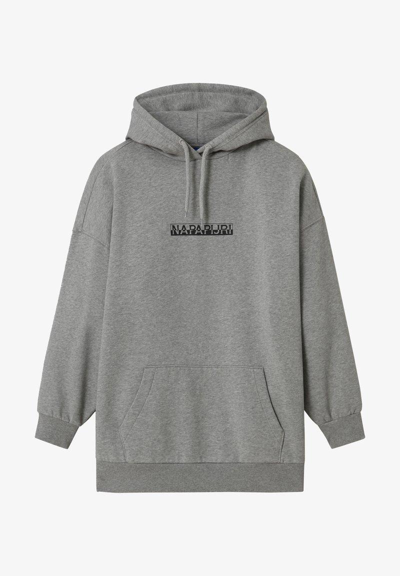 Napapijri - B-BOX - Hoodie - medium grey melange