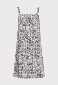 Calvin Klein Jeans - WIDE STRAPS DRESS - Cocktail dress / Party dress - beige - 4