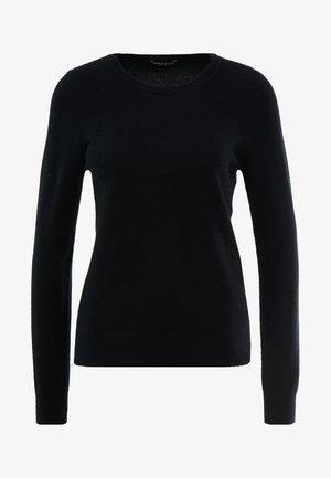 CREW NECK CASHMERE - Jumper - black