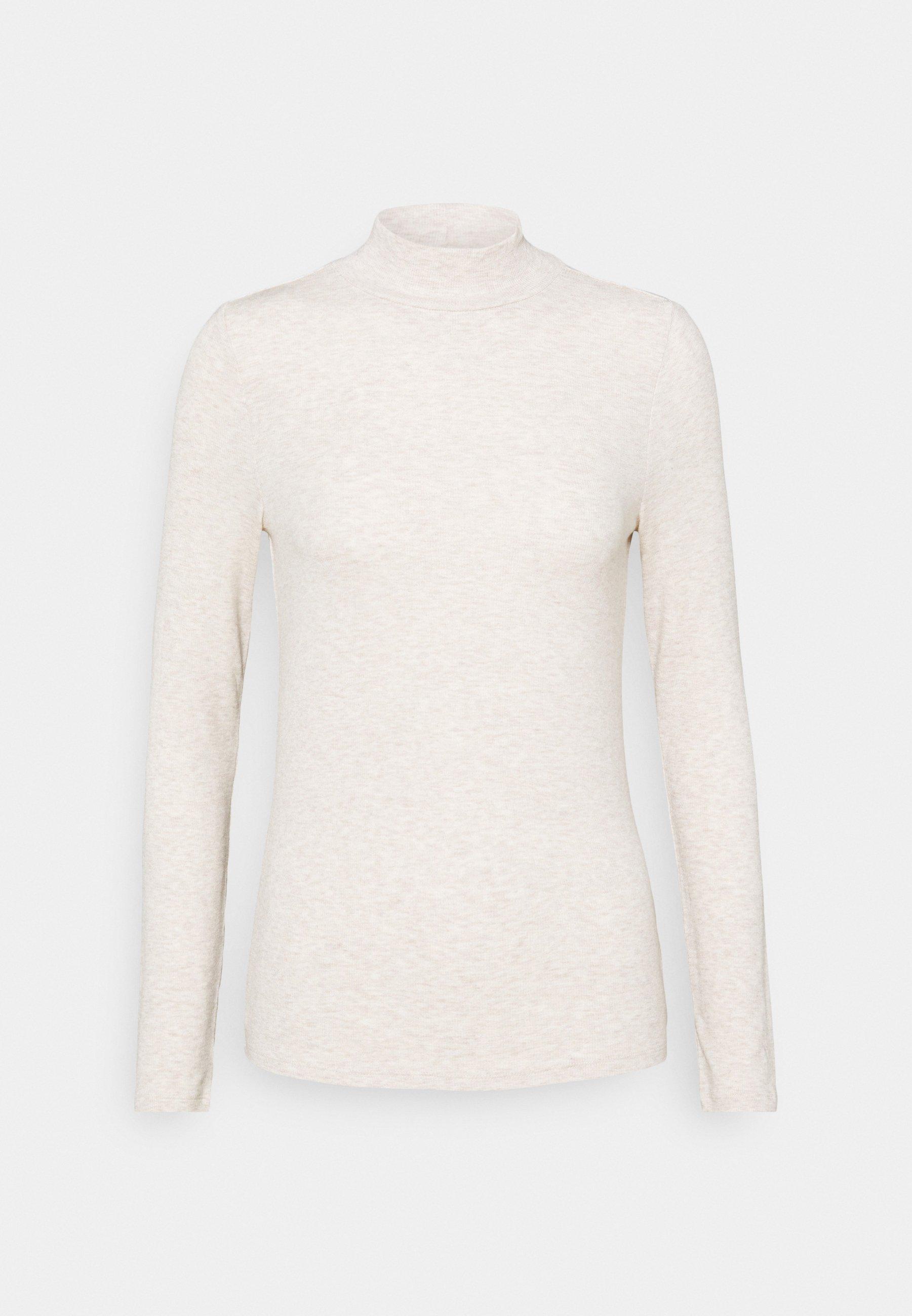 Women COZY - Long sleeved top - oatmeal heather