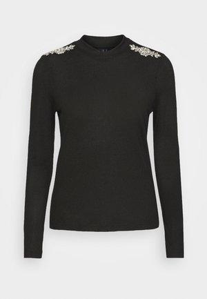 VMMALENA DECO - Jersey de punto - black