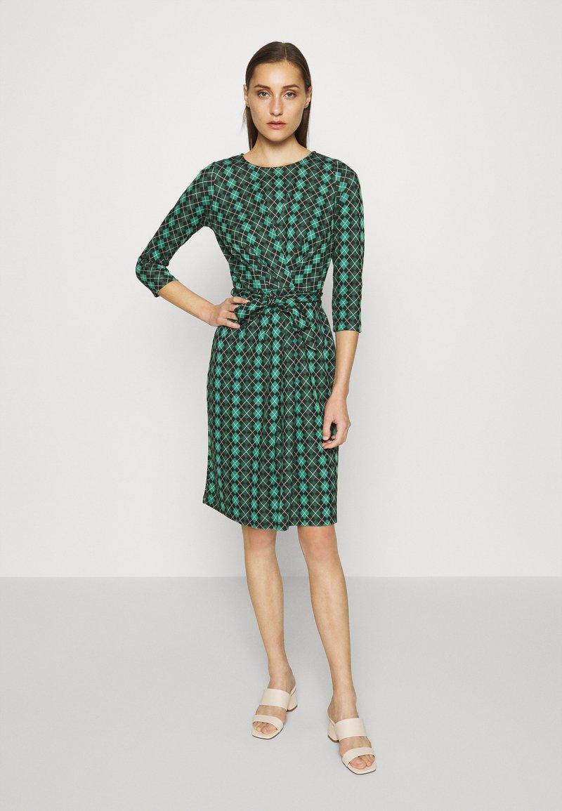 King Louie - HAILEY DRESS ABERDEEN - Day dress - fir green