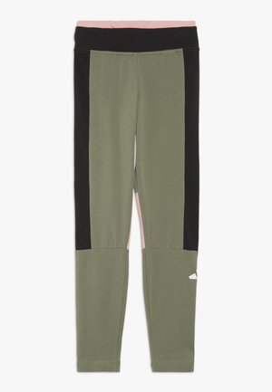 Leggings - legend green