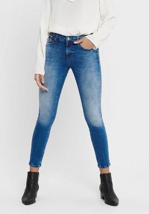 ONLISA ZIP - Jeans Skinny Fit - medium blue denim