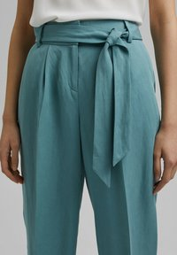 Esprit Collection - Trousers - dark turquoise - 3