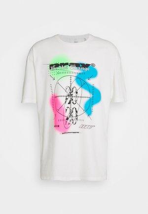 CIRCLE UNISEX - T-shirts med print - off white