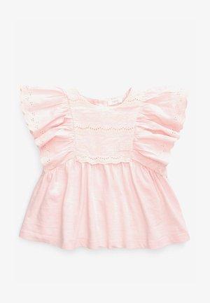 BRODERIE - Blůza - pink