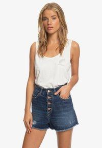 Roxy - LAGOS CLIFF - Denim shorts - dark indigo - 0