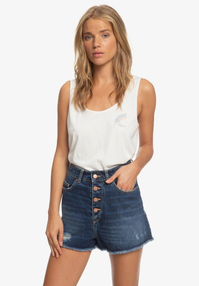 Roxy - LAGOS CLIFF - Denim shorts - dark indigo