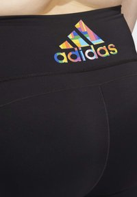 adidas Performance - PRIDE BELIEVE THIS 2.0 3-STRIPES 7/8 LEGGINGS - Medias - black - 4