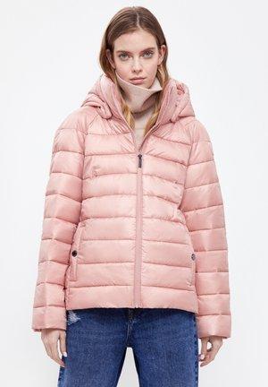 Winter jacket - pale pink